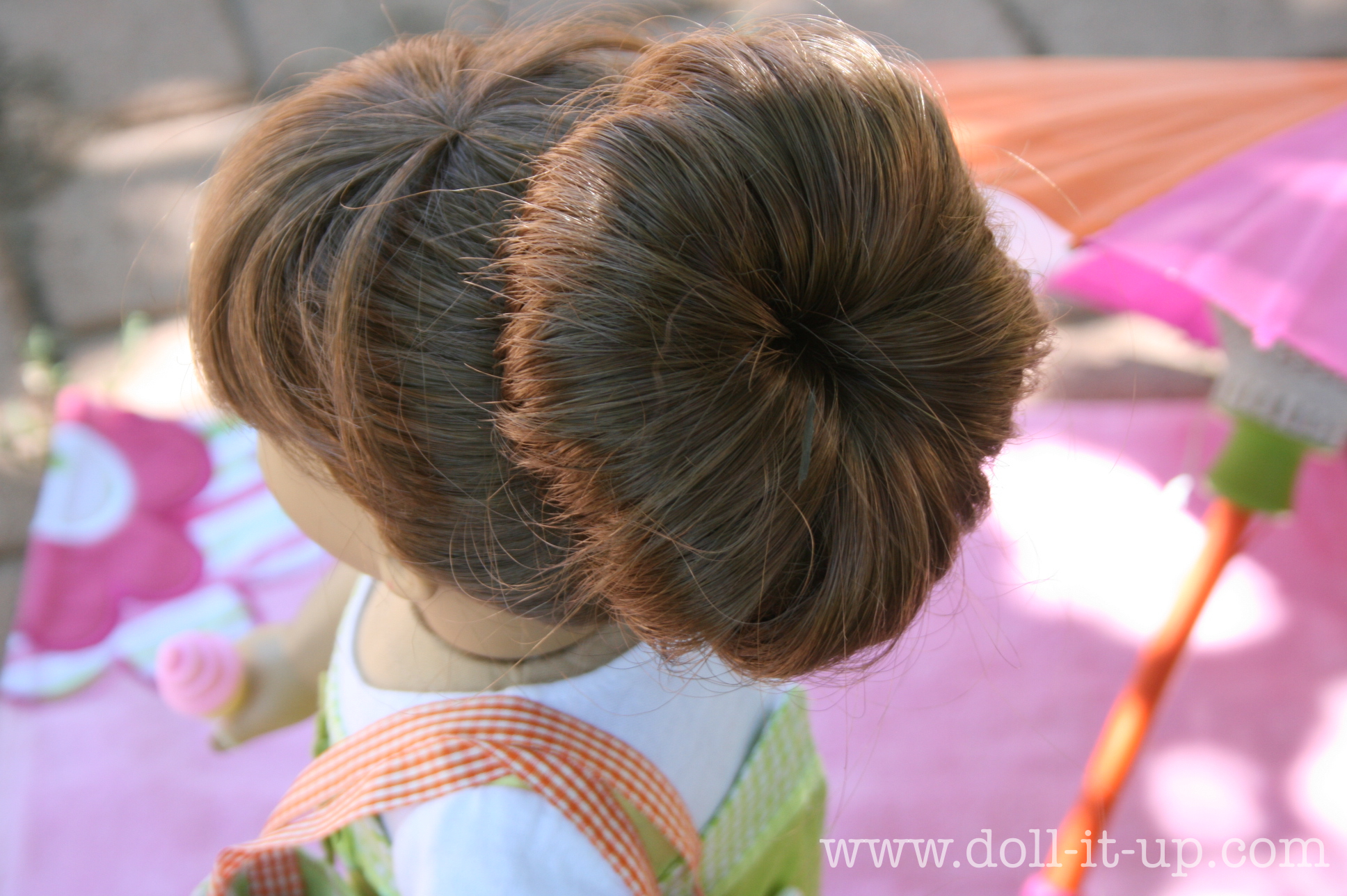 Doll Hair The Fabulous Sock Bun Doll It Up