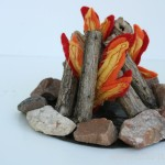 Make a Doll Campfire Part 1: The Rustic Outdoors