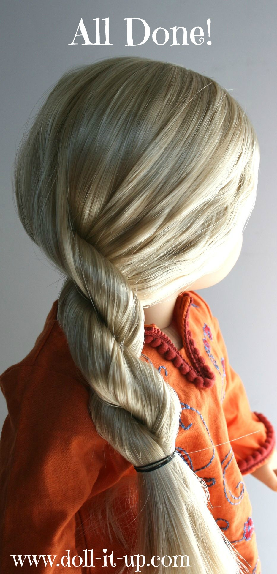 How To Rope Braid Doll It Up