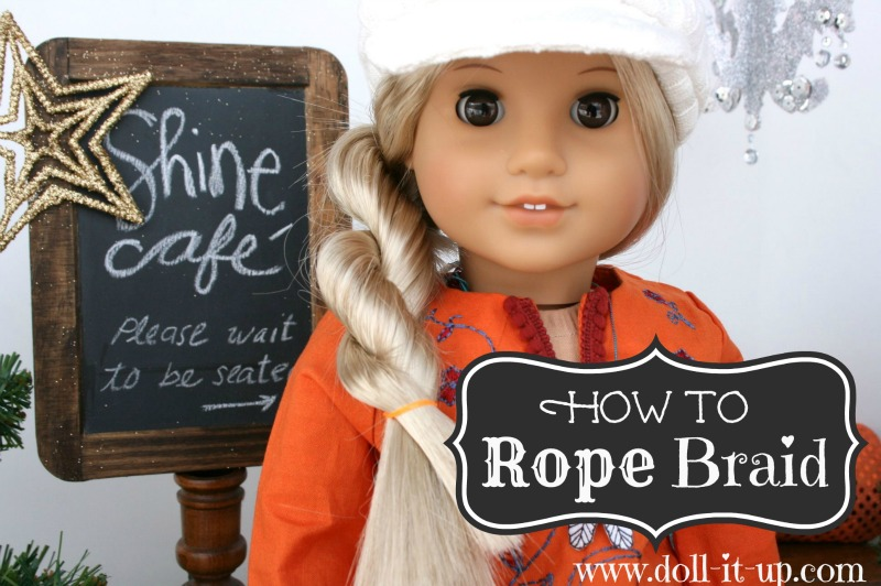 Ag Hair Styles: How To Rope Braid