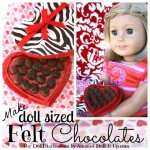 Doll Sweets- Felt Chocolates for Valentines