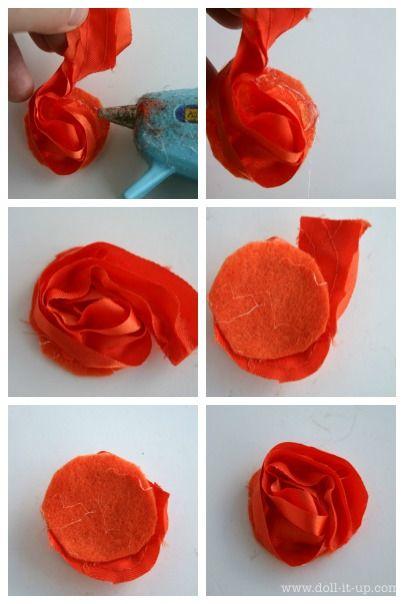 Making Flower Headbands Flower Headband From Flower