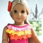 Repurpose a Baby Shirt and Make a Doll Dress!