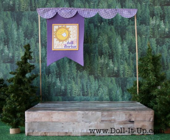 Rustic Outdoor Stage - 02
