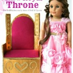 Make a Royal Doll Throne