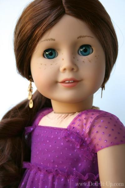 Doll dress from a girls skirt- 8
