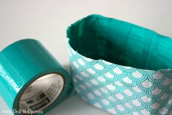 Make a doll size craft bag-14