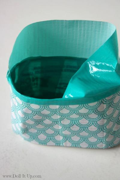 Make a doll size craft bag-16