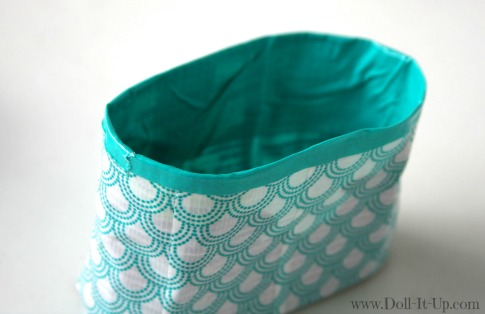 Make a doll size craft bag-17