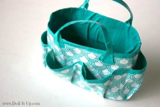 Make a doll size craft bag-21