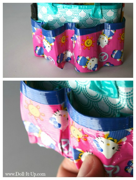 Make a doll size craft bag-8