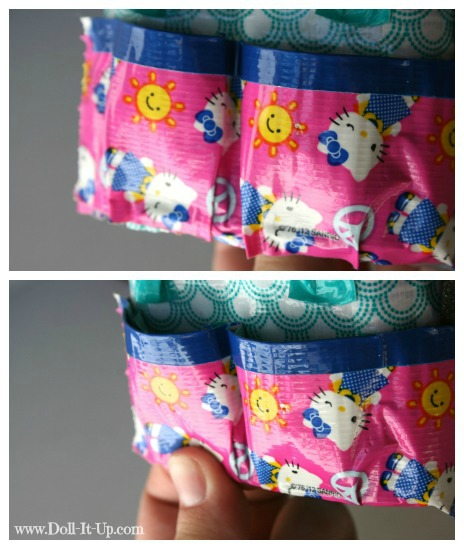 Make a doll size craft bag-9