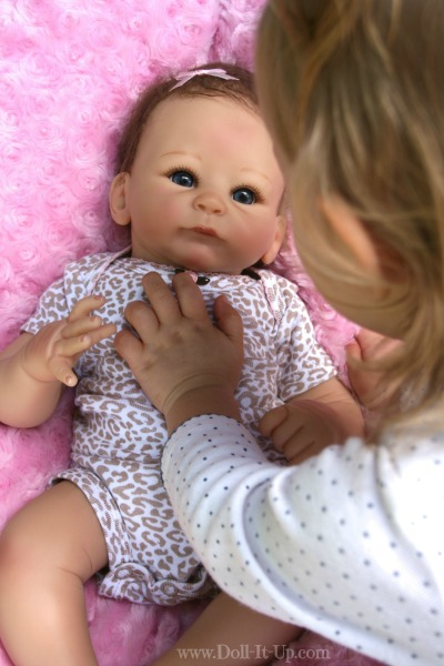 Our New Ashton-Drake Baby Doll {part 2} - Doll It Up