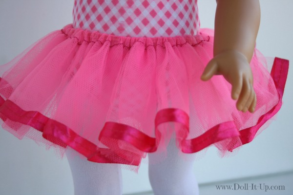 Make a tutu for dolls-2