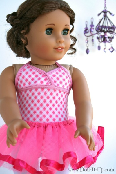 Make a tutu for dolls-4