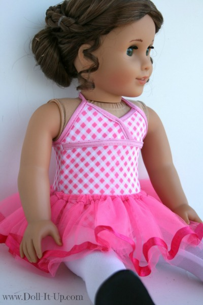 Make a tutu for dolls-5