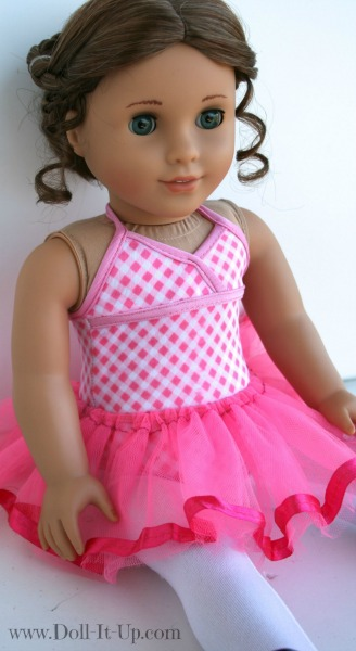 Make a tutu for dolls-6
