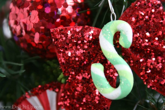 Monogram ornament for girls and dolls-S