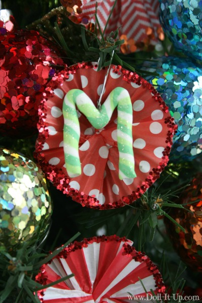 Monogram ornament for girl's and dolls