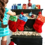 Colorful Buttons for Doll Stockings