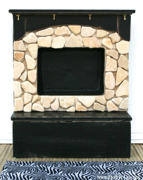 All About Our Doll Fireplace {Part 1: A Repurpose Project} - Doll ...