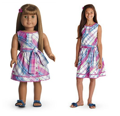 Find matching doll and girl clothes in a variety of styles at the official American Girl site. Choose from a selection of casual girl and doll matching outfits, special occasion dresses, swimwear, and more!