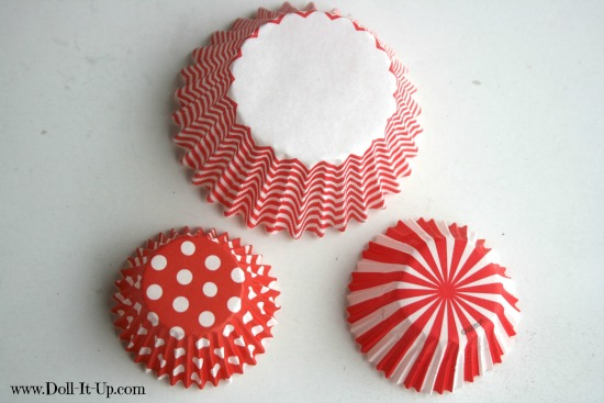 cupcake liner ornaments-1