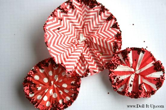 cupcake liner ornaments-10