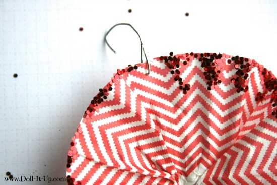 cupcake liner ornaments-11