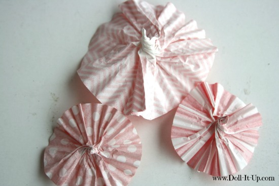 cupcake liner ornaments-5
