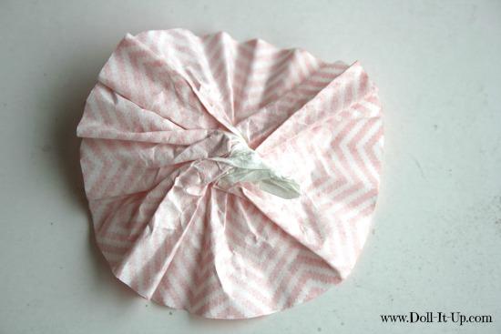 cupcake liner ornaments-6