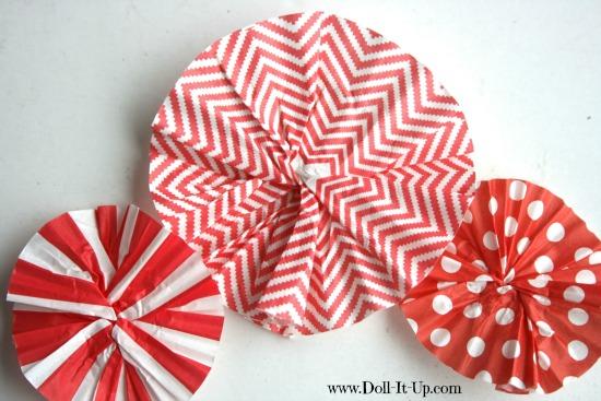 cupcake liner ornaments-7