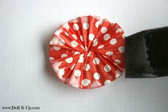 cupcake liner ornaments-8