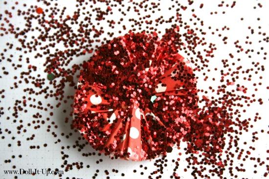 cupcake liner ornaments-9
