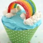 Rainbows, Clouds, Creative Inspiration and a Printable Cupcake Wrapper