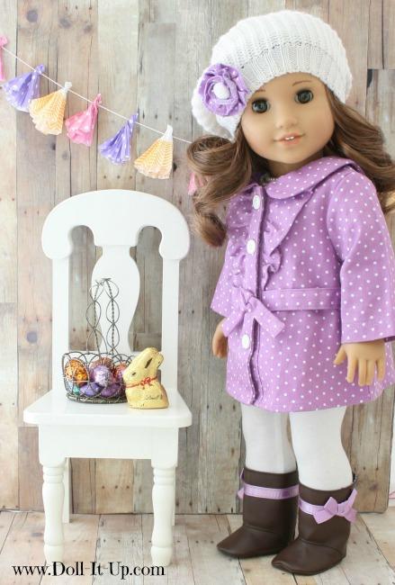 Easy banner for dolls