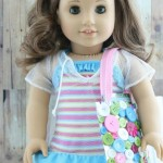 Make a Button Beach Bag for Your Dolls!