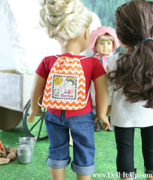 Doll Size Wagon for Kirsten Larson