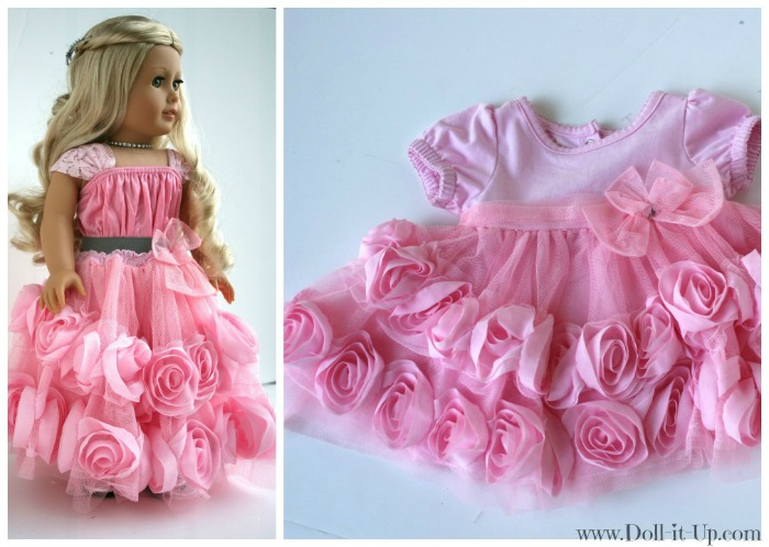 9 Quick and Easy Doll Outfits Made from Girl\'s Skirts! - Doll It Up