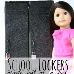 Craft Your Own Doll Size Lockers