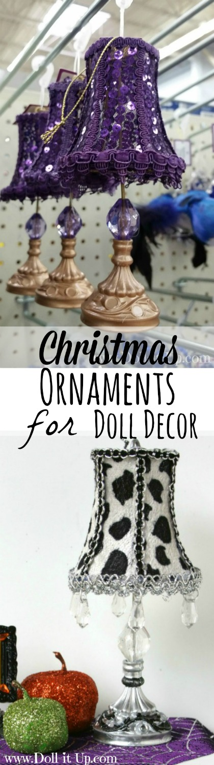 Christmas Ornaments for Doll Decor