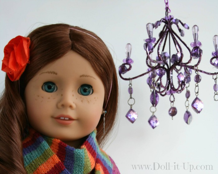 Christmas ornament perfect for a doll size Chandelier