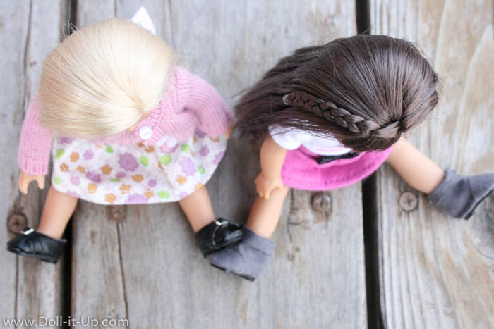 American Girl Mini Dolls-Comparing the old and new dolls-12