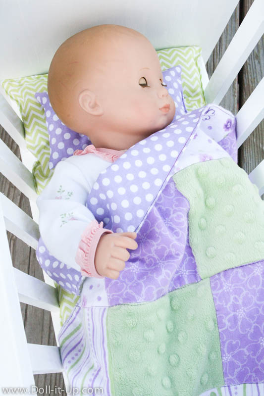 Making Bedding For Baby Doll Doll It Up