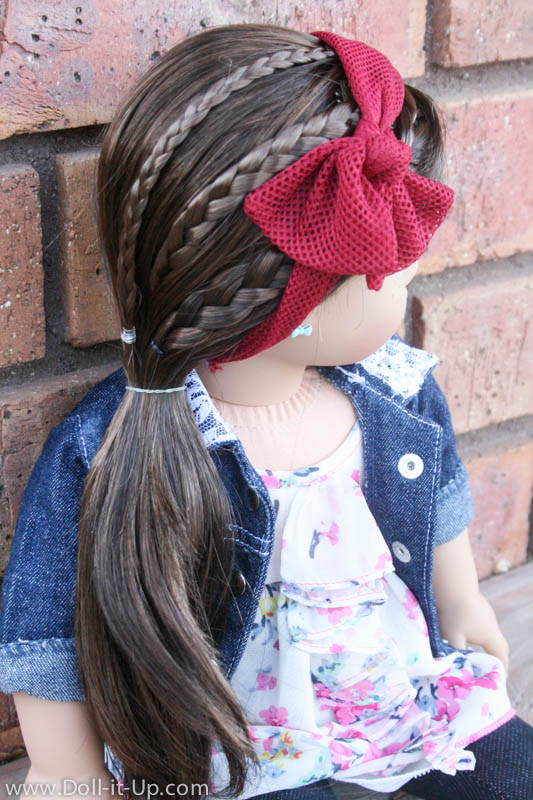 american doll hair style styling tips for braid doll it up 5518