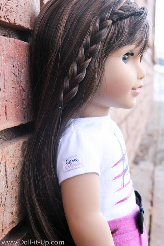 Looking At Graces Hair GOTY Part Doll It Up - Doll hairstyles for grace