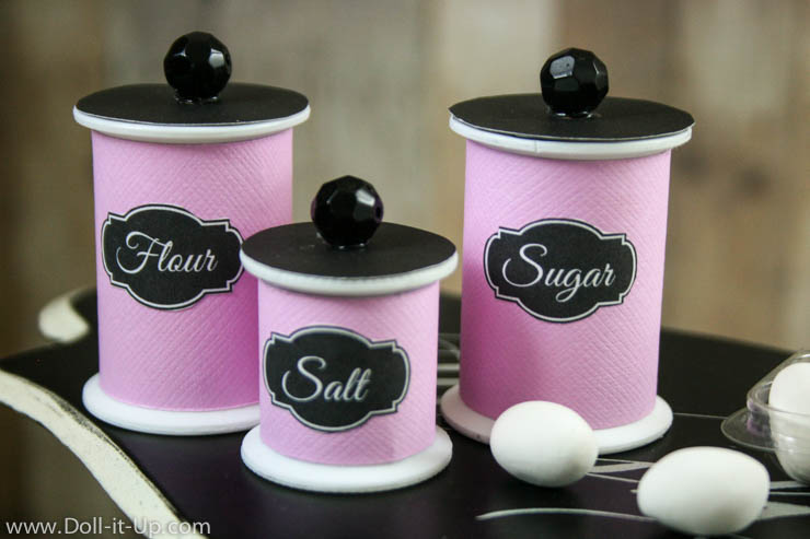Kitchen Canisters For Your AG Doll - Doll It Up