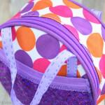 Make a Dance Bag {or a travel bag} for Dolls
