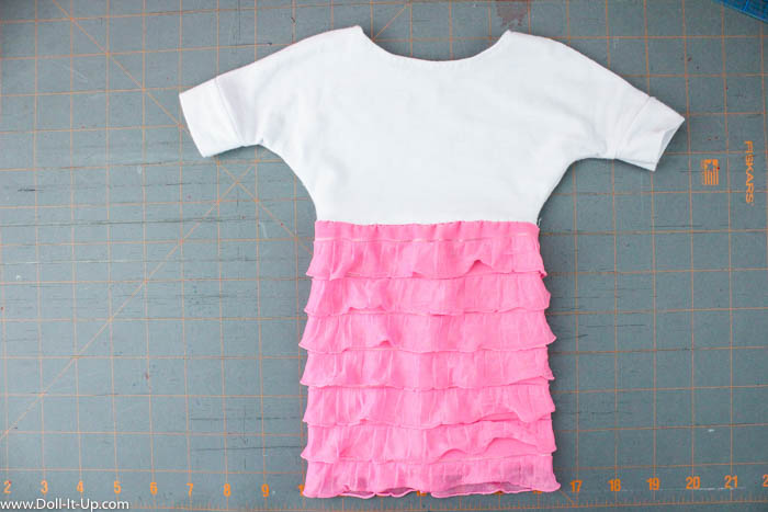 Dolman Dress for Dolls-4