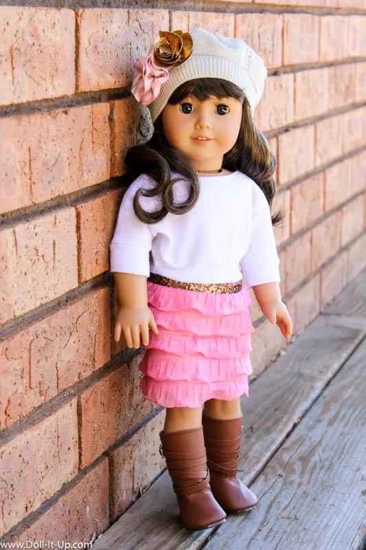 Dolman Dress for Dolls-9